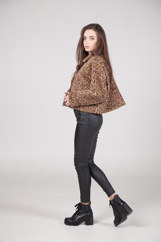 Куртка с леопардовым принтом магазин