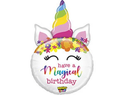 Фольгированный шар MAGICAL BIRTHDAY Единорог