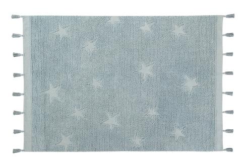 Ковер Lorena Canals Hippy Stars Aqua Blue (120 х 175)