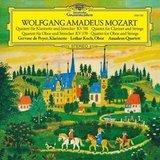 Mozart, Gervase De Peyer, Lothar Koch, Amadeus Quartet / Quintet For Clarinet And Strings, Quartet For Oboe And Strings (LP)