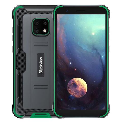 Смартфон Blackview BV4900, черный/зеленый