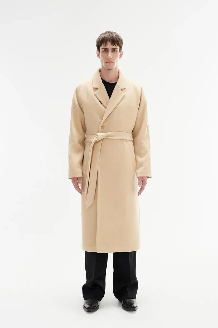 Пальто халат/beige