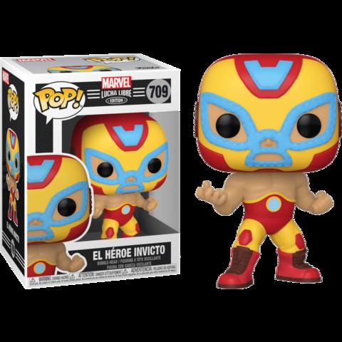 Фигурка Funko Pop! Marvel: Lucha Libre Edition - El Heroe Invicto