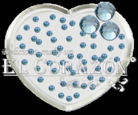 ЭК Стразы стеклянные 100шт/106  SS6-светло-голубой