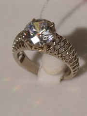 Дебби (кольцо из серебра)