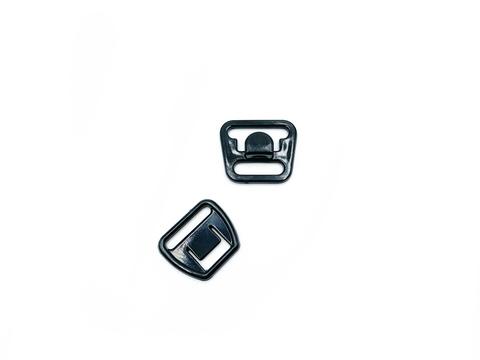 Крючок-застежка для бюстгальтера для кормящих мам черная 14 мм