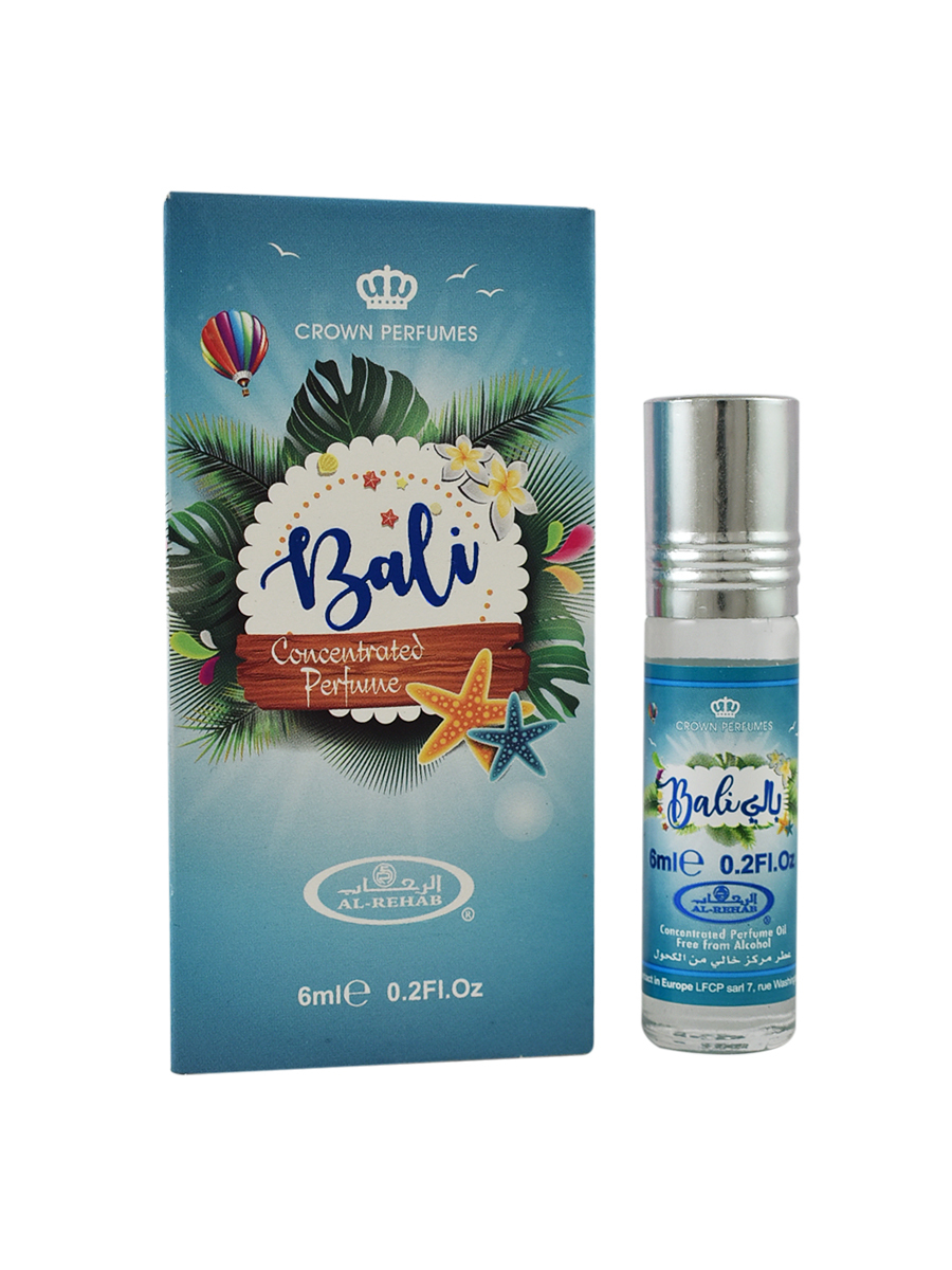 Bali 6 мл арабские мужские масляные духи от Аль Рехаб Al Rehab