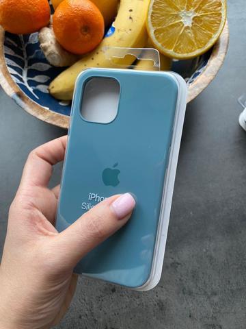 Чехол iPhone 12 (6,1) Silicone Case Full /cactus/