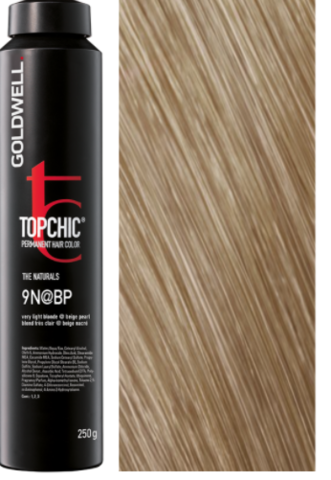Goldwell Topchic 9N@BP - очень светлый блонд с бежево-перламутровым сиянием (жемчужный блонд) TC 250ml