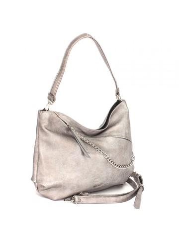 Женская сумка с декоративным элементом