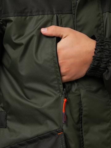 Костюм для охоты, рыбалки Вожак (Таслан на флисе, олива) -5 градусов