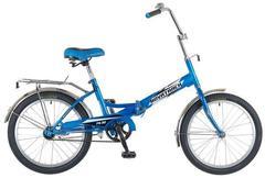 Складной велосипед Novatrack FS-30 синий
