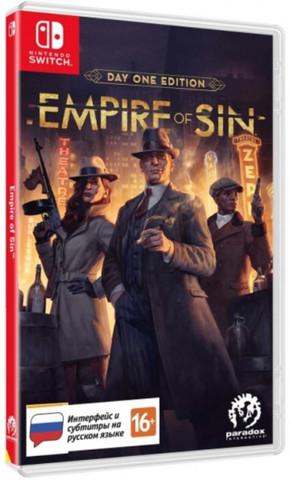 Empire of Sin Издание первого дня (Nintendo Switch, русские субтитры)