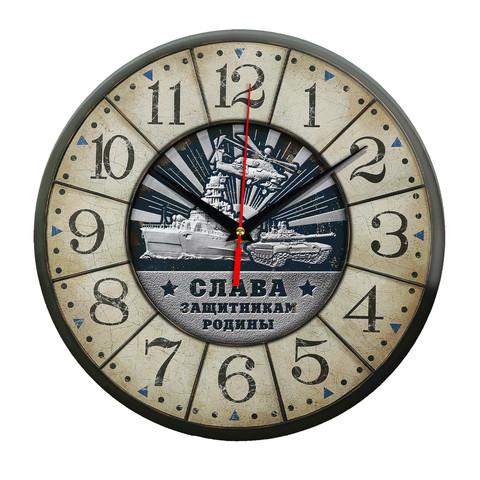 Часы Слава защитникам родины