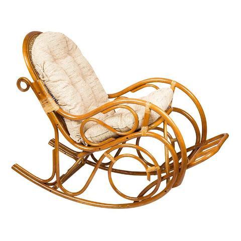 Кресло-качалка с подножкой, 05/11 К (подушка рогожка)