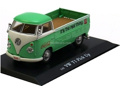 VW T1 Pick Up Coca-Cola lightgreen-white MotorCity 1:43