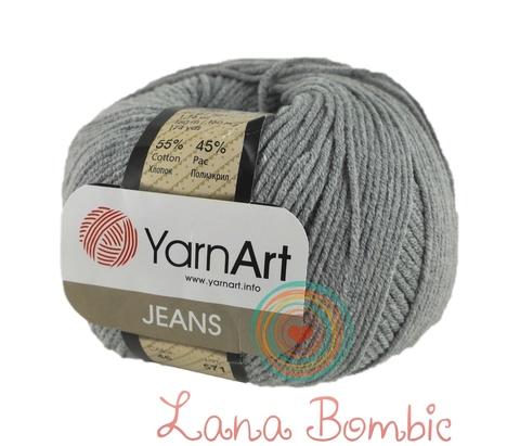 Пряжа YarnArt Jeans 46 серый
