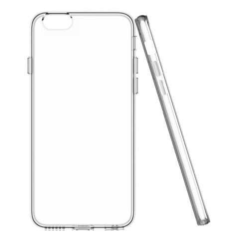 Чехол силиконовый SkinBox для Apple iPhone 7 Plus (Прозрачны)