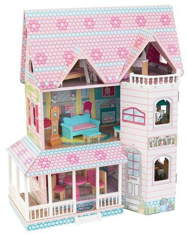KidKraft Особняк Эбби - кукольный домик с мебелью 65941_KE