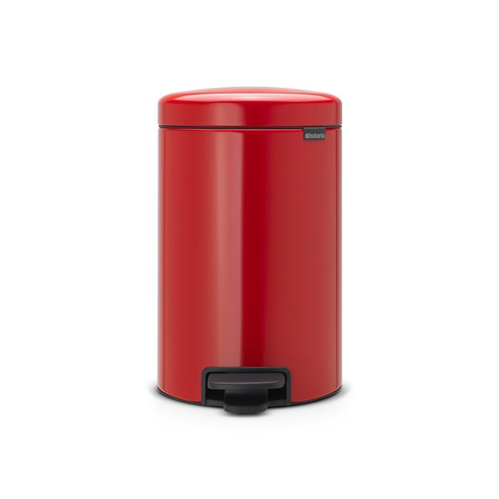 Мусорный бак newIcon (12 л), Пламенно-красный, арт. 112003 - фото 1