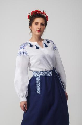 Блуза Дивная 01 Приближенный фрагмент