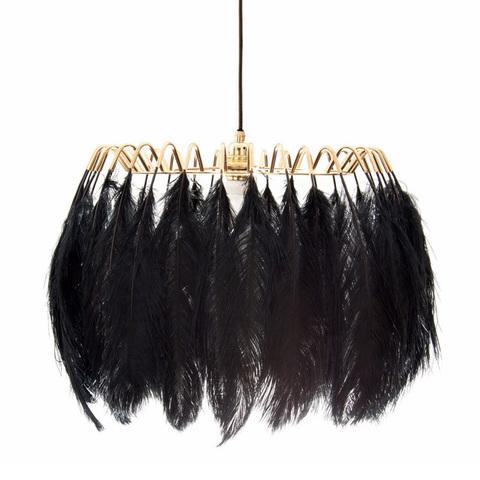Подвесной светильник Feather by Mineheart (черный)