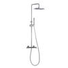 Душевая система с термостатом и тропическим душем для ванны DRAKO 334803RP300 - фото №1