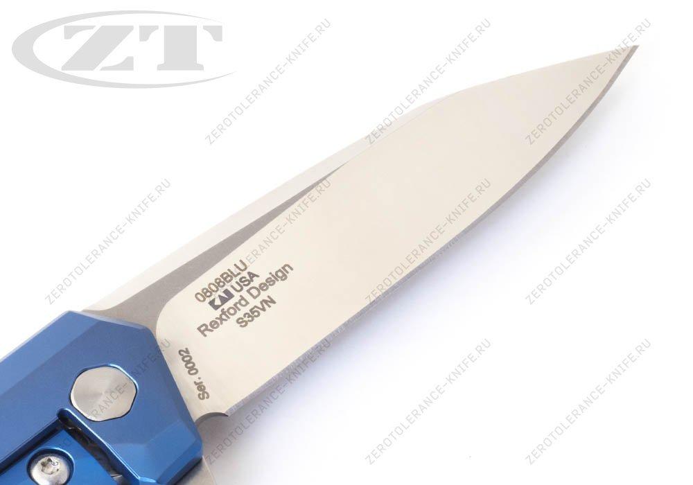 Нож Zero Tolerance 0808BLU Rexford - фотография