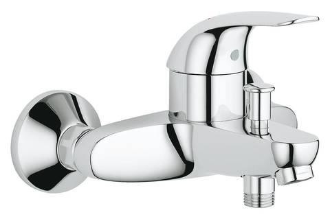 Смеситель для ванны GROHE Euroeco, хром (32743000)