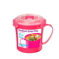 Кружка суповая для СВЧ Sistema