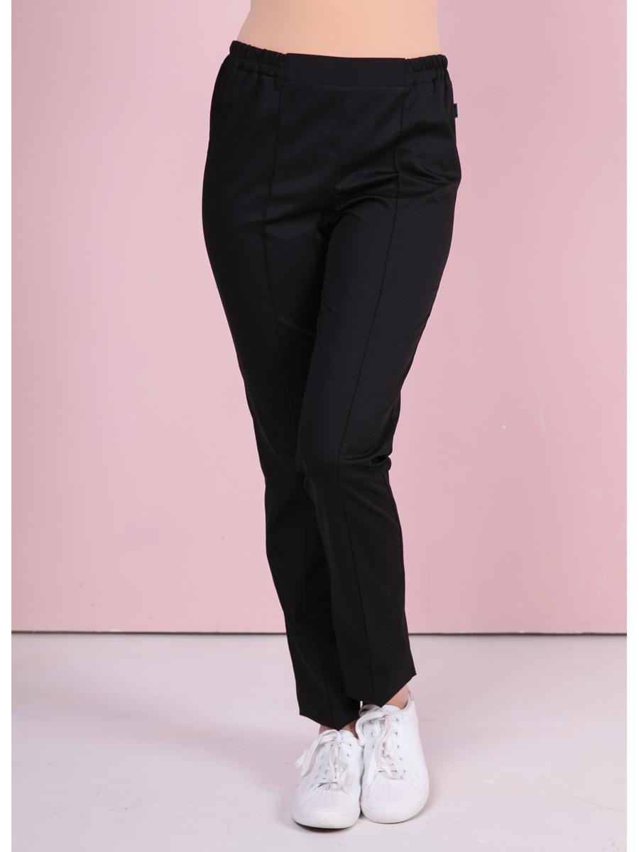 Купить брюки черные медицинские Б-101/2|MediS.moda