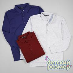 Рубашка-поло (кулирка, вышивка)