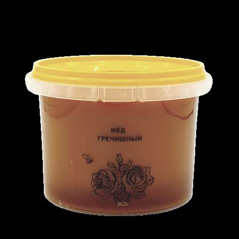 Мёд натуральный ГРЕЧИШНЫЙ, 1 кг НОВЫЙ УРОЖАЙ