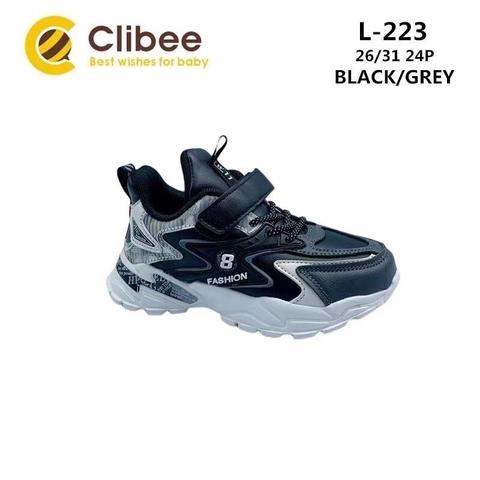 Clibee L223 Black/Grey 26-31