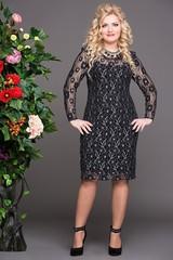 Платье Богиня черный