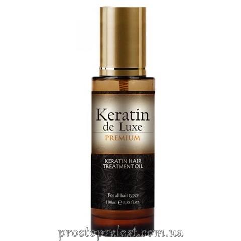 De Luxe Keratin Hair Treatment Oil - Олія для волосся з кератином
