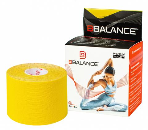 Тейпы для тела BB TAPE™ 5см*5м хлопок желтый, BBalance Корея