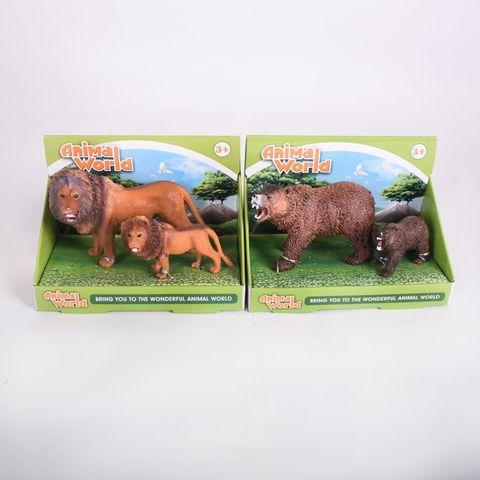 Животные в коробке 10 шт/уп