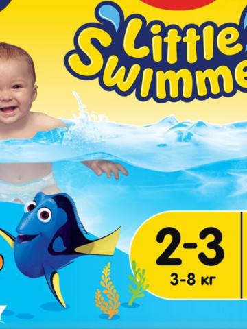 Huggies трусики для плавания Swimmers 3-8 кг