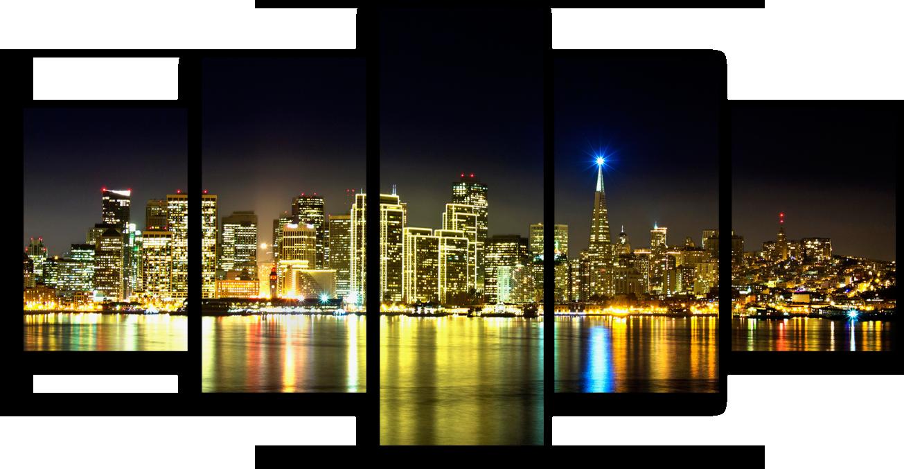 "Города Модульная картина ""Сан Франциско"" М944.png"