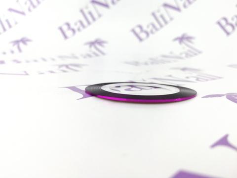 Самоклеящаяся лента для дизайна ногтей (фуксия)