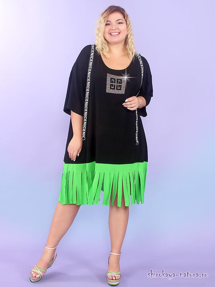 женская одежда туники больших размеров