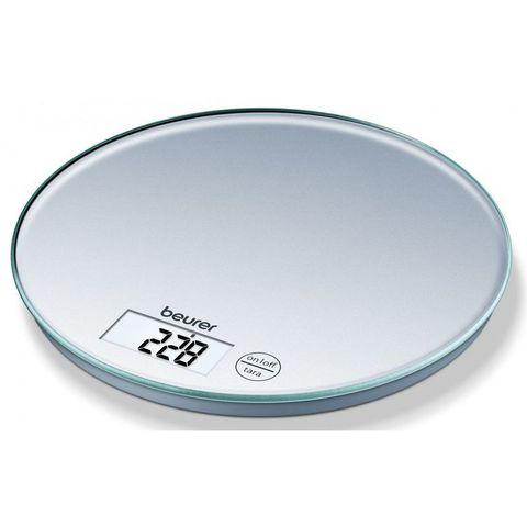 Весы кухонные электронные Beurer (B-KS28) макс.вес:5кг серебристый