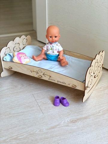 Конструктор Кроватка для пупсов