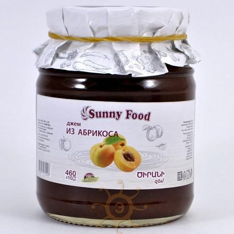 Джем абрикосовый Sunny Food, 460г