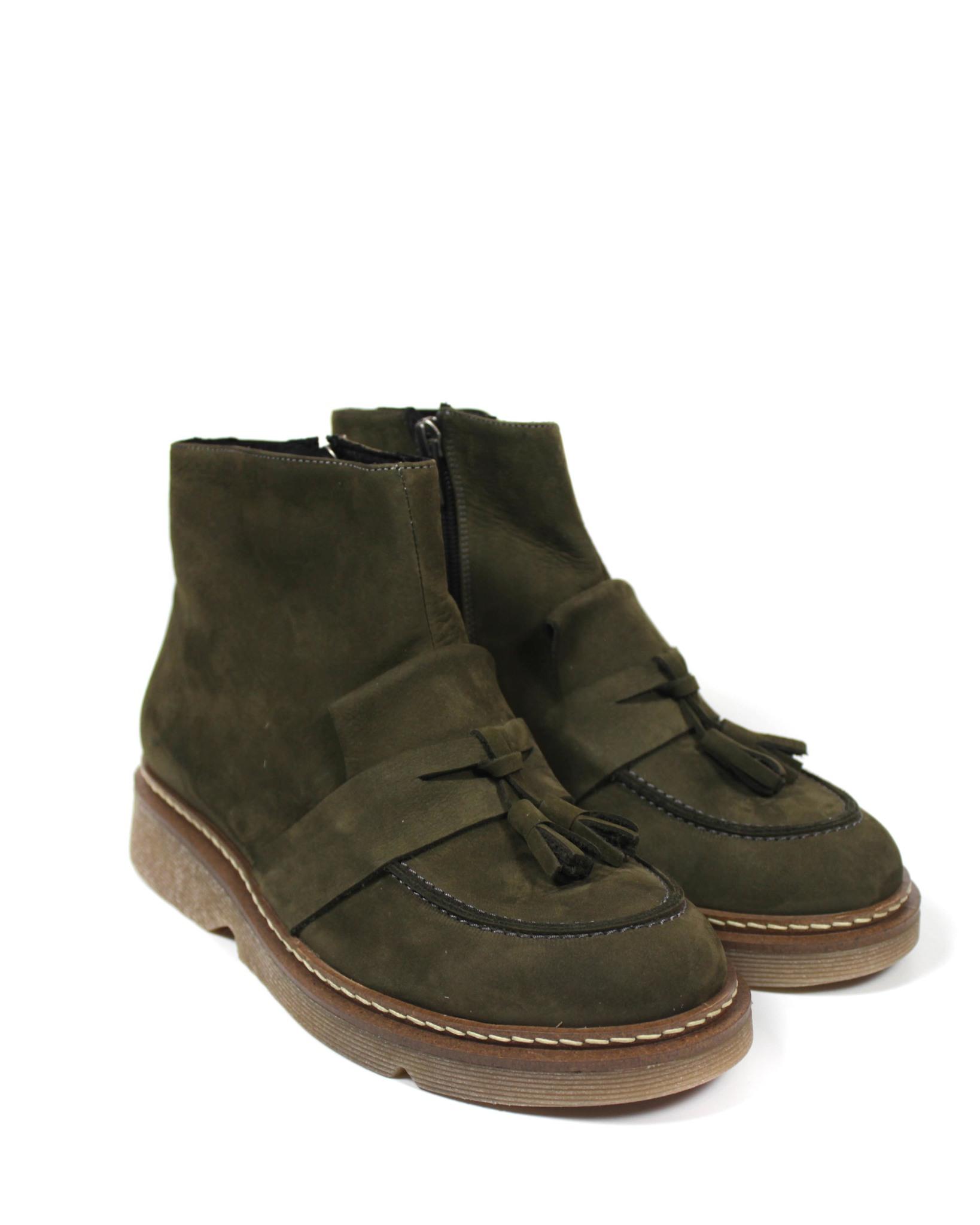 ботинки цвета хаки Secret Zone
