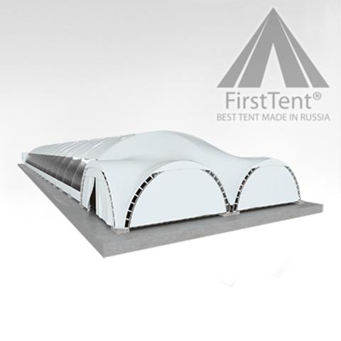 Арочный шатер 16х80