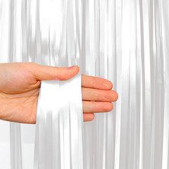 Занавес Дождик, Белый, 200*100 см,  1 шт.