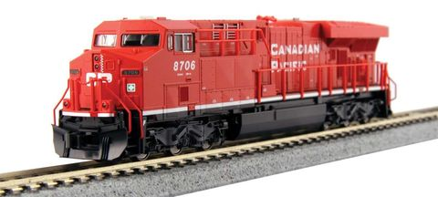 Локомотив Kato GE ES44AC GEVO Canadian Pacific