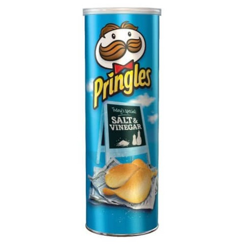 Чипсы Pringles Salt & Vinegar